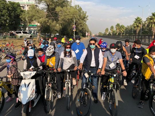 islamabad cycling Pakistan