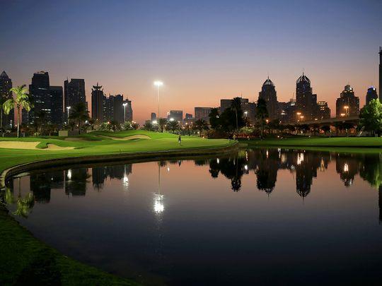 Golf-Nick Faldo course