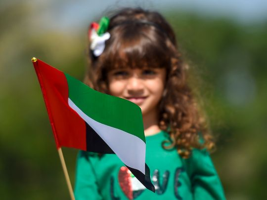 Sharjah Flag Island celebrates UAE flag day