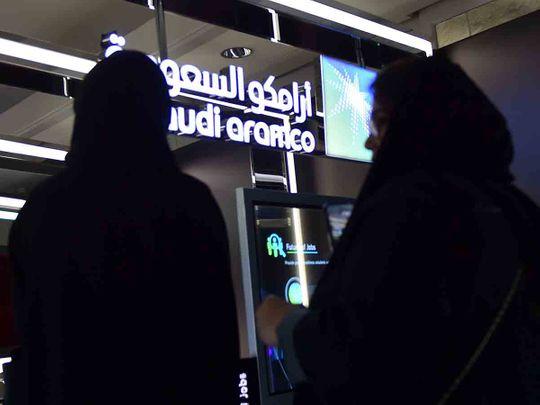 Saudi Aramco stock