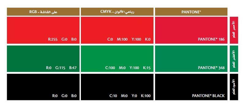 UAE flag colour
