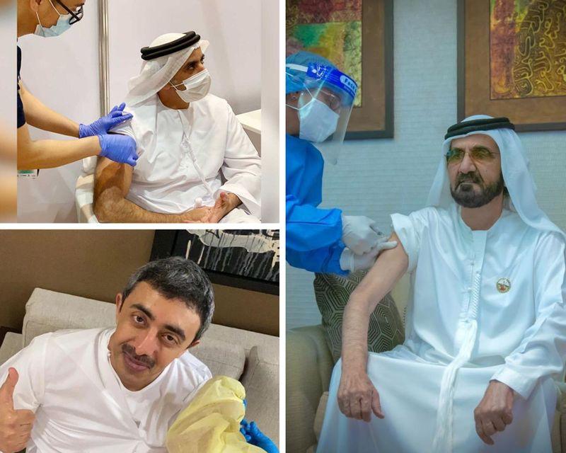 VAccine UAE officials