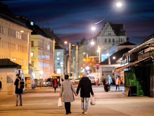 Vienna market Austria coronavirus