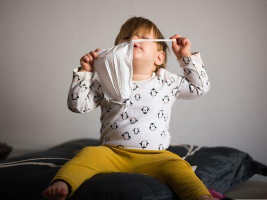 Are face masks stunting kids' development?