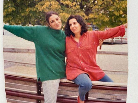 Tabu and Farah Khan