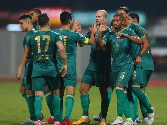 Al Wasl thumped Kalba 3-0