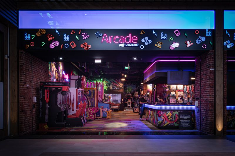 Arcade Hub Zero
