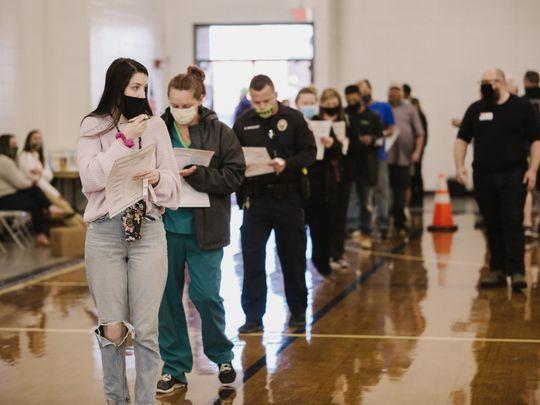 US Elections queues