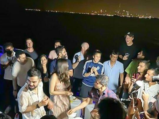 Virat Kohli and friends