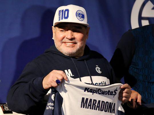 201106 Maradona