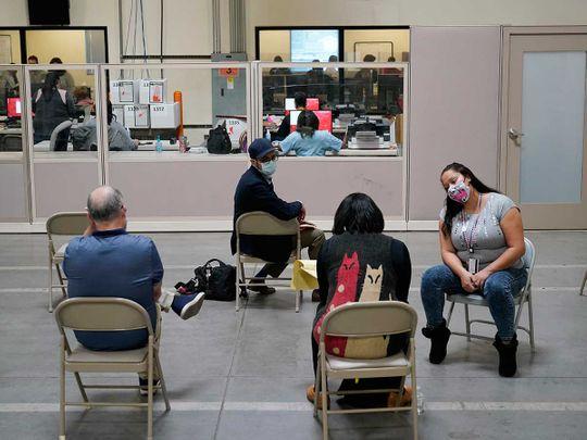 Poll watchers Las Vegas US