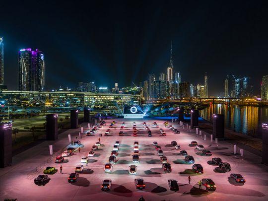 Taycan Launch Dubai