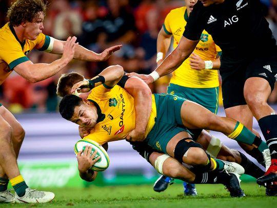 Australia defeated New Zealand 24-22 in Brisbane