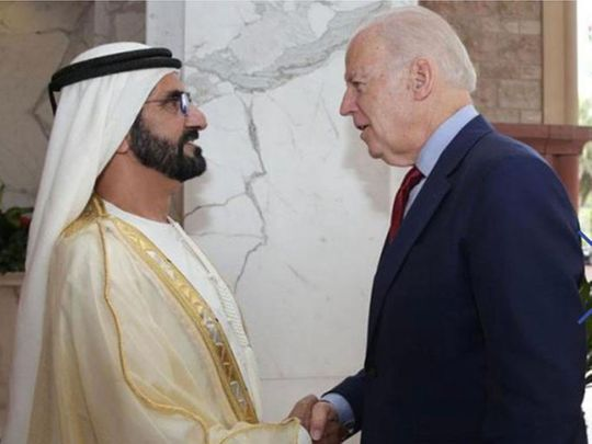 201108 Mohammed with Biden