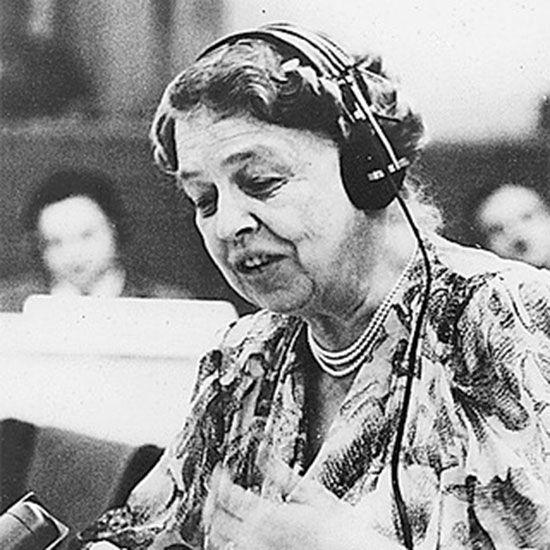 Anna Eleanor Roosevelt