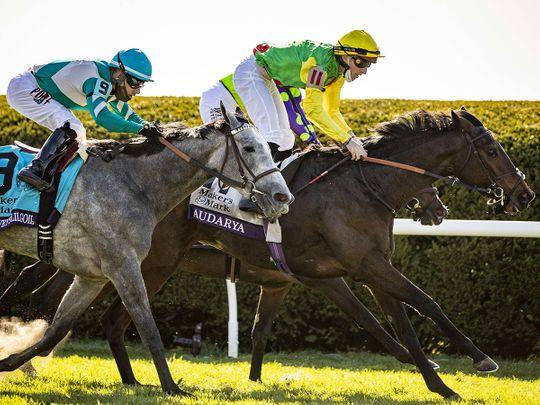 Audarya wins at Keeneland