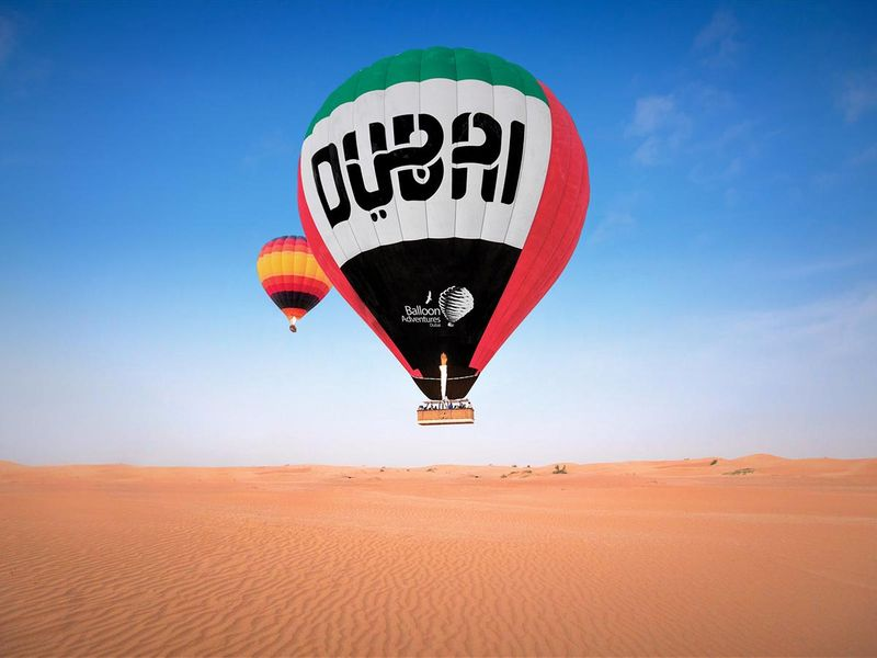 Hot air baloon dubai