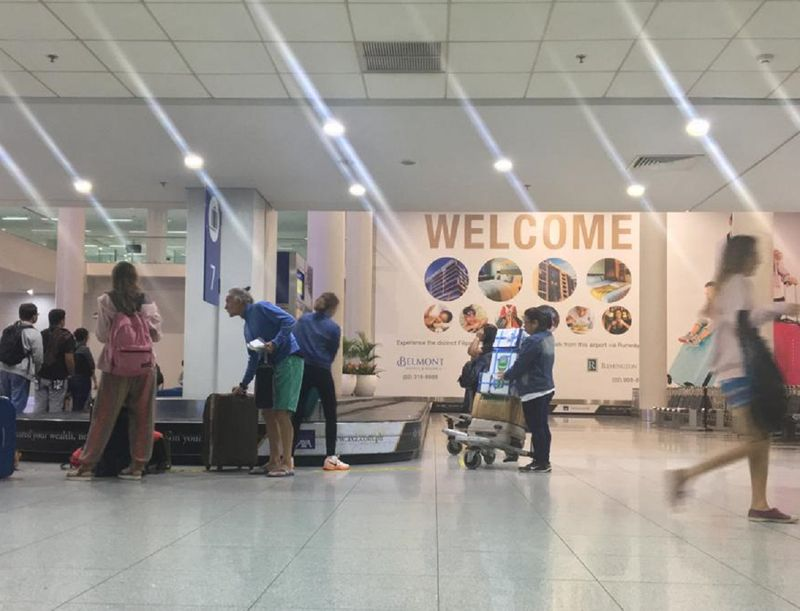 Manila Airport welcome