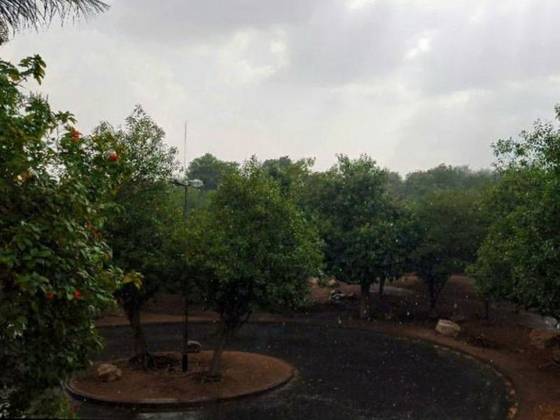 Rain in UAE Sharang Sunoj