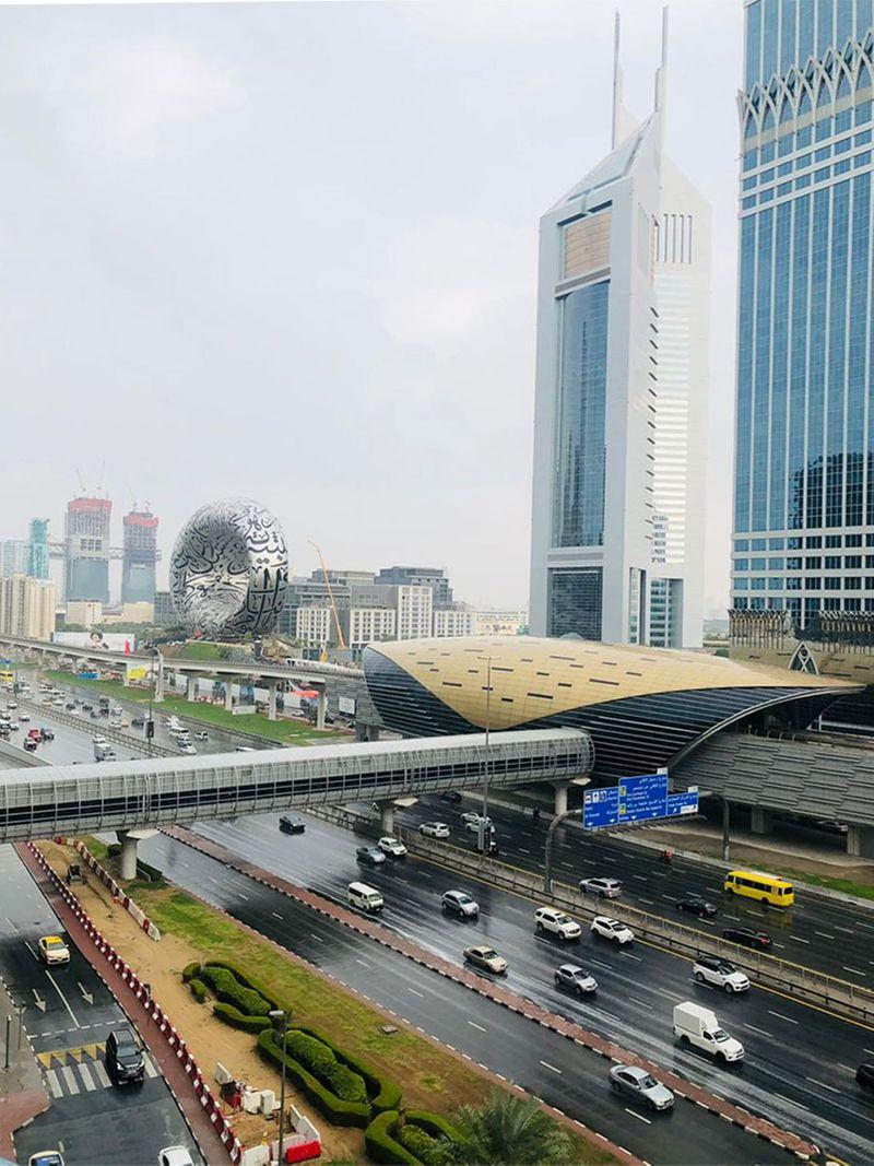 UAE rain Bijal Katira
