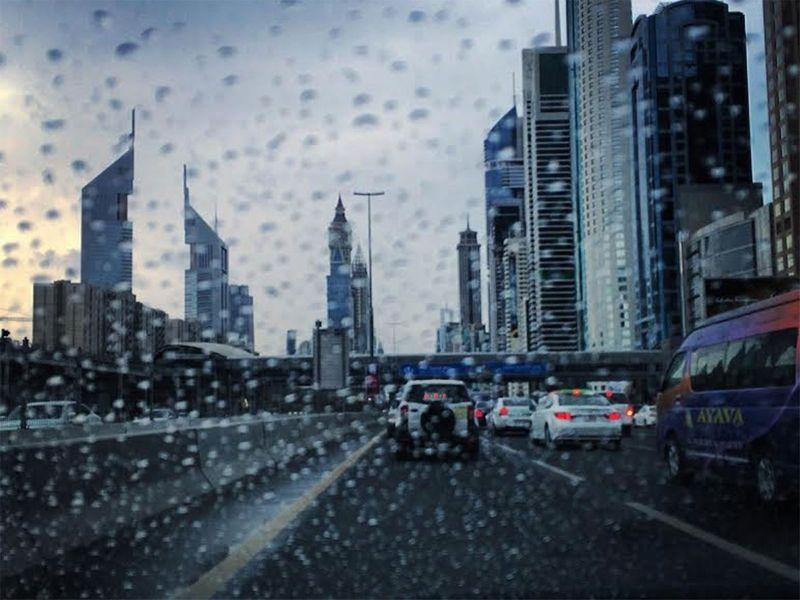 UAE rain Naman Dagariya