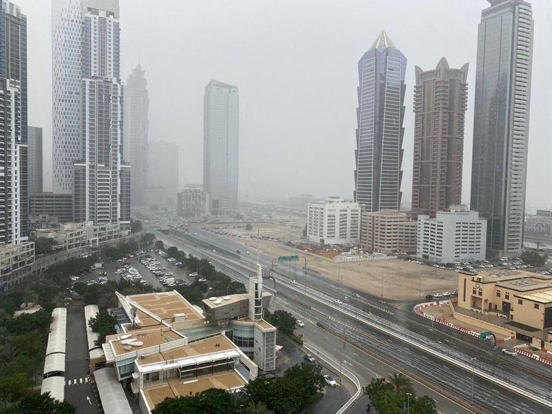 UAE rain/Nilanjana Javed