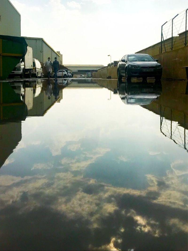 UAE rain Rodney Santos