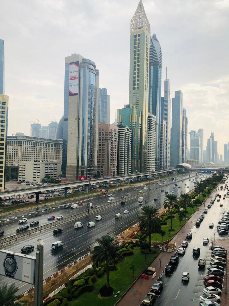 UAE rain Tanvi shah