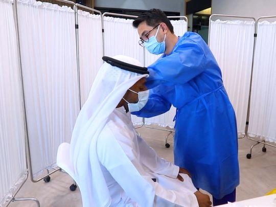 Dubai Health Authority Flu vaccination