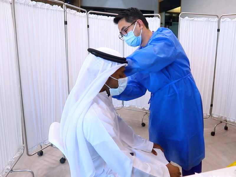 Dubai Health Authority Flu vaccination