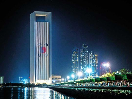 Energy-Section---Korean-national-flag-on-ADNOC-building-FOR-WEB