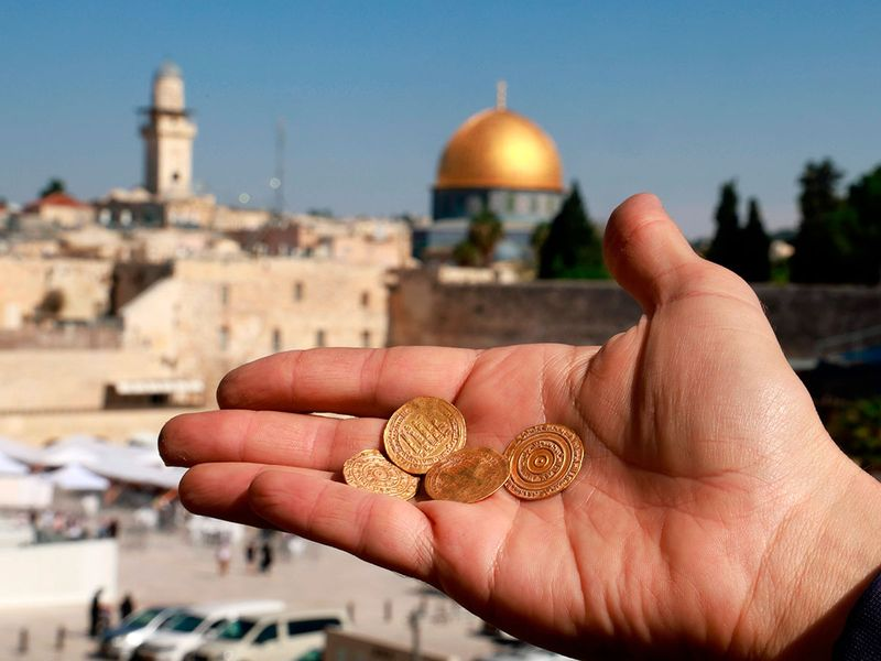 Israel gold coins gallery
