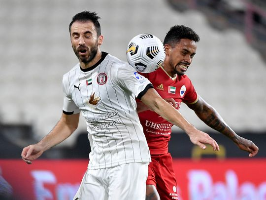 Sharjah defeated Al Jazira 1-0