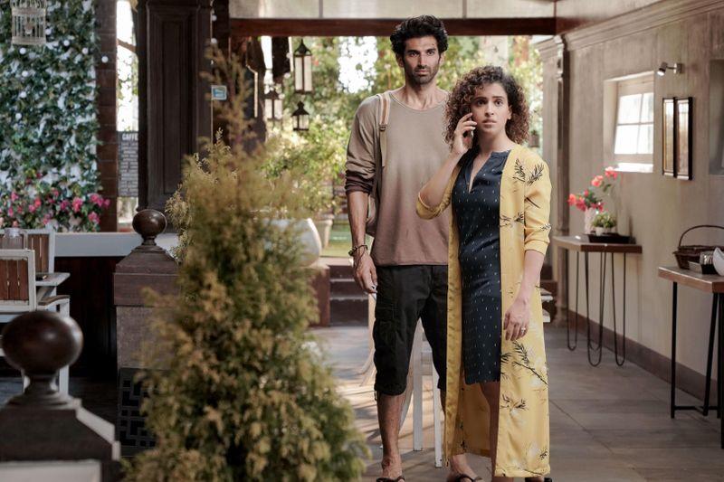Aditya Roy Kapur and Sanya Malhotra Ludo