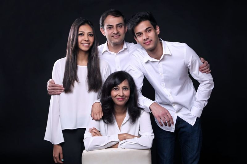 Alka and her family