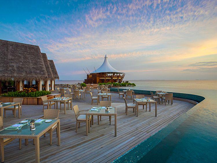 Baros Maldives Lime restaurant