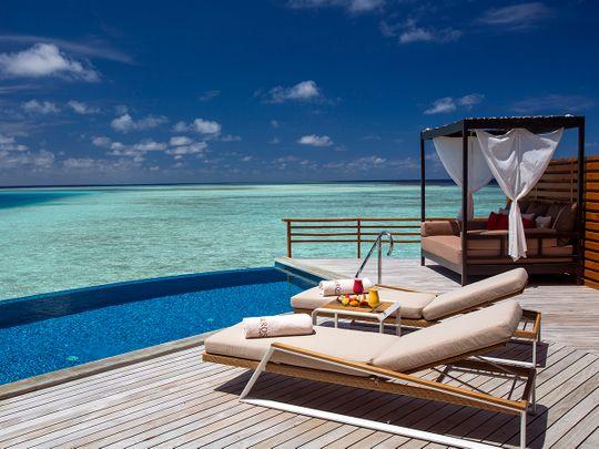 Baros Maldives wet deck