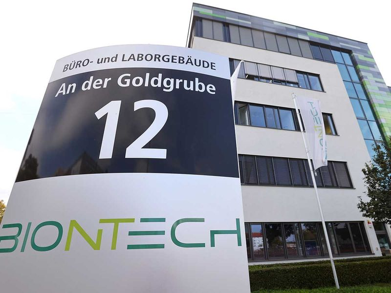 German biotech firm BioNTech