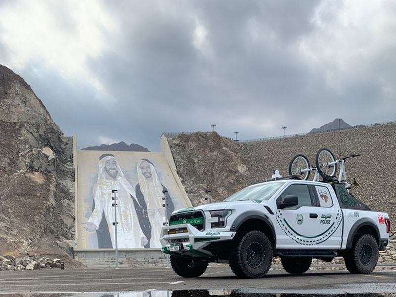 NAT 201111 Dubai Police step up readiness in Hatta valleys and mountains1-1605094965663