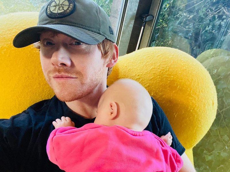 Rupert Grint baby