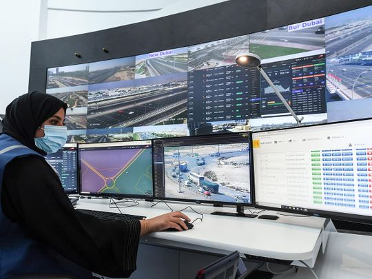 Stock Dubai Intelligent Traffic Systems