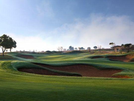 The Fire Course are Jumeirah Golf Estates