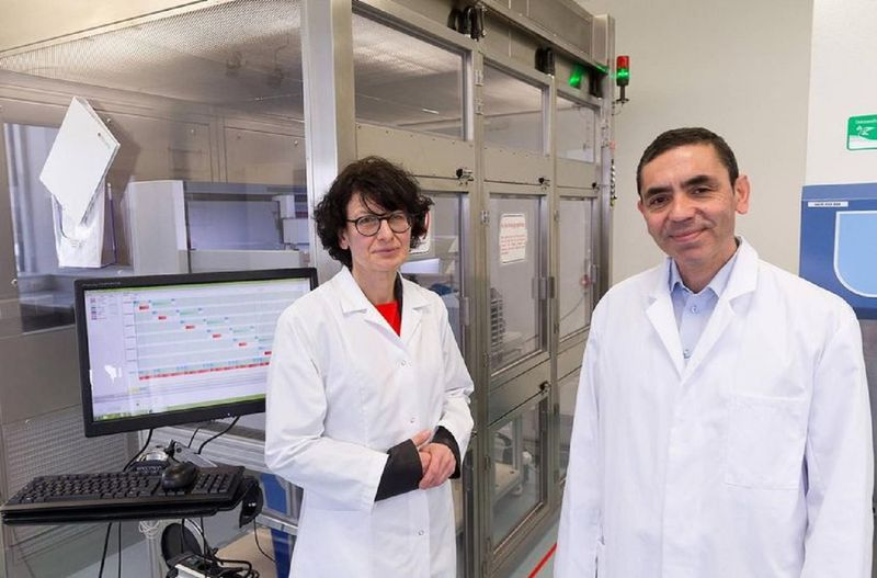The brains behind the Pfizer COVID-19 vaccine is a husband-and-wife team of researchers: Ugur Sahin, 55, and Ozlem Tureci, 53, founders who based in the German city of Mainz.