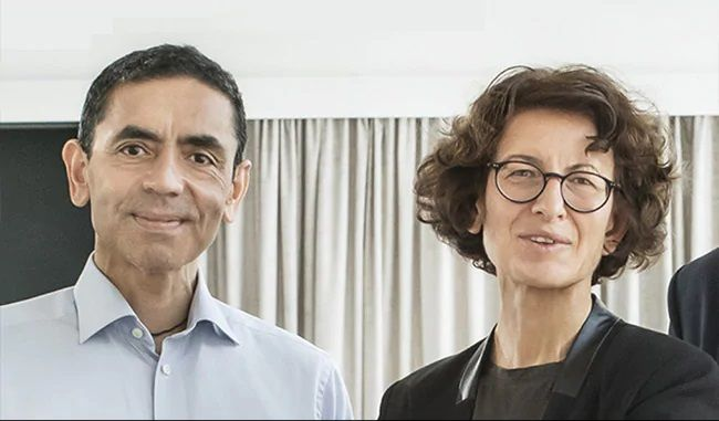 Ugur Sahin, 55, and Ozlem Tureci, 53, founders based in the German city of Mainz. Their vaccine is unlike any other out in the market today. While administered like other vaccines — via an intramuscular injection — it contains an anti-viral messenger RNA.