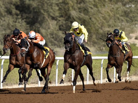 Jebel Ali Racecourse will be back in action on Friday