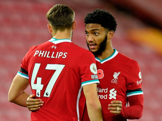 Joe Gomez has joined the injury list