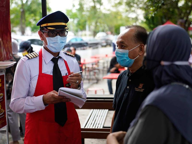 Pilot Malaysia food