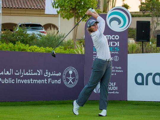 Saudi Arabia's leg of the Ladies European Tour kicked off Thursday