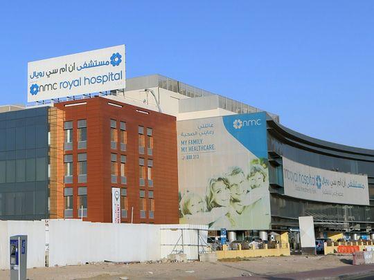 Stock NMC hospitals