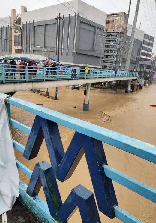 Typhoon Ulysses in Marikina Philippines